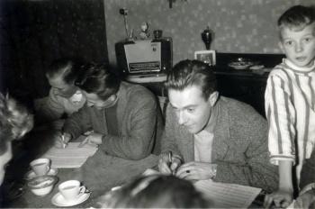 Jacobus Faber en Hein Post