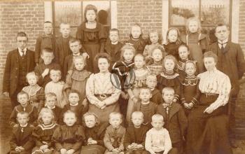 Christelijke Lagere School (omstreeks 1905)