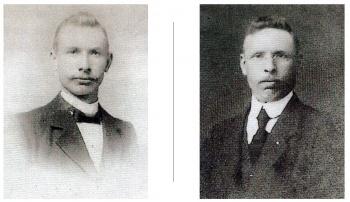 Broers Kornelis en Jan Siderius