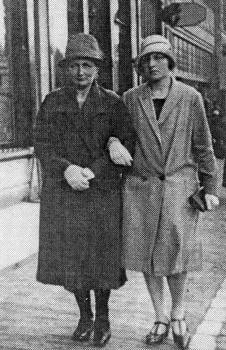 Trijntje Oepkes Marra en dochter Anna Post