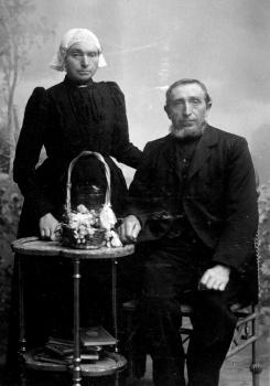 Echtpaar Terpstra - Zwart