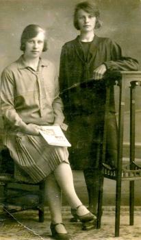 Andrieske Dusselaar (1911-1988) en vriendin