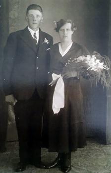 Wijbe Freerk bij de Leij en Antje de Jong