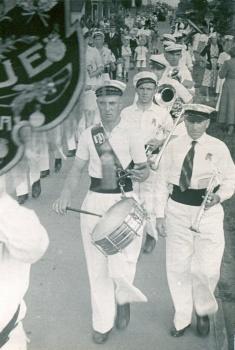 Muziekkorps 1950