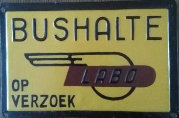 Haltebord LABO