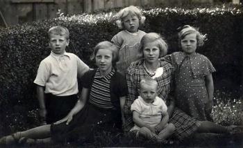 Kinderen Willem en Sijke Travaille