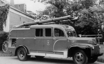 Brandweerauto Gemeente Barradeel