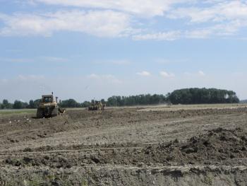 Egaliseren landbouwgrond - Hearewei