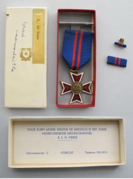 Medaille brandweer K de Haan