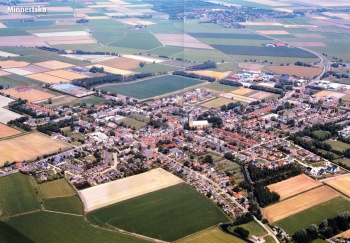 Luchtfoto Minnertsga