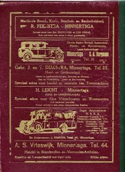 Postmap eind jaren 20