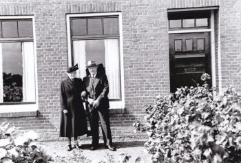 Echtpaar Jan Theunis Brouwer en Jantje van Mourik