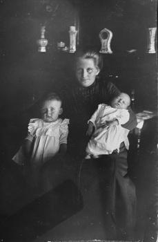 Trijntje Elsinga - de Boer en kinderen