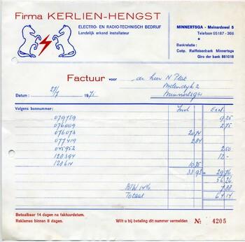 Kerlien - Hengst Electro technisch bedrijf