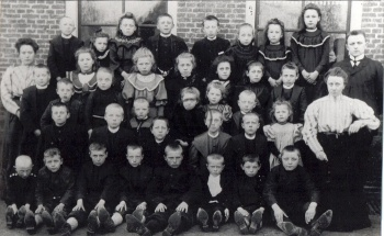 Christelijke Lagere School (omstreeks 1906)