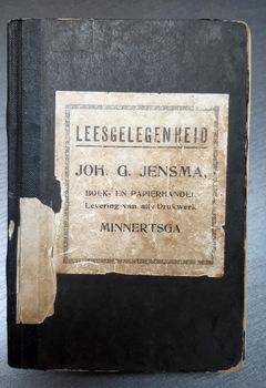 Bilbliotheekboek Johannes G. Jensma
