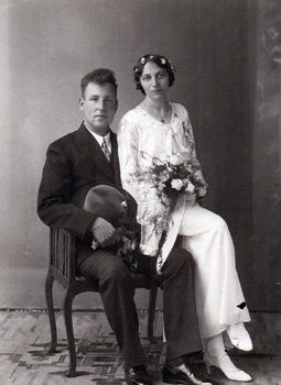 Johannes Glazema en Aafje Dijkstra