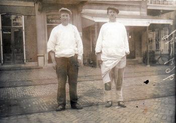 Broers Pieter en Johannes Glazema