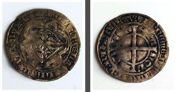 Zilveren Groot van Albrecht van Beieren 1336-1404