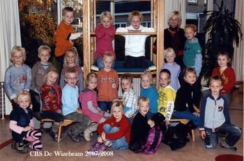 CBS De Wizebeam schooljaar 2007-2008