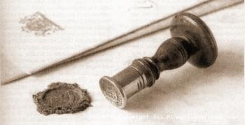 Lakstempel notaris Steensma