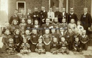 Christelijke Lagere School omstreeks 1911