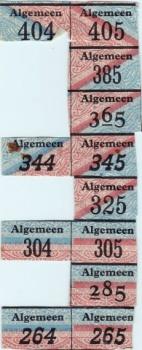 Bonkaart Algemeen